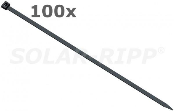 100 uds. bridas (resistente a los rayos UV)