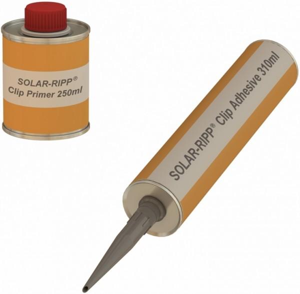 Disolvente limpiador y adhesivo para SOLAR-RIPP ® pinzas (Set)