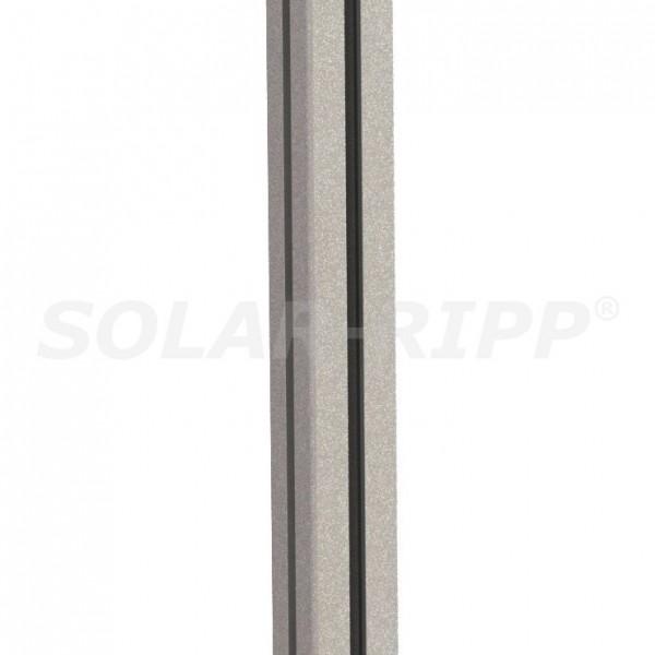 SOLAR-RIPP ® postes de la valla de energía ALU